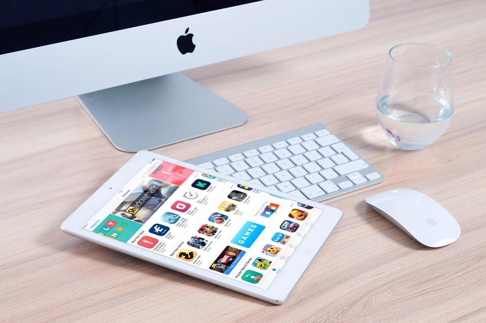 Imac, Apple, Mockup, App, Ipad, Mouse, Device, Design