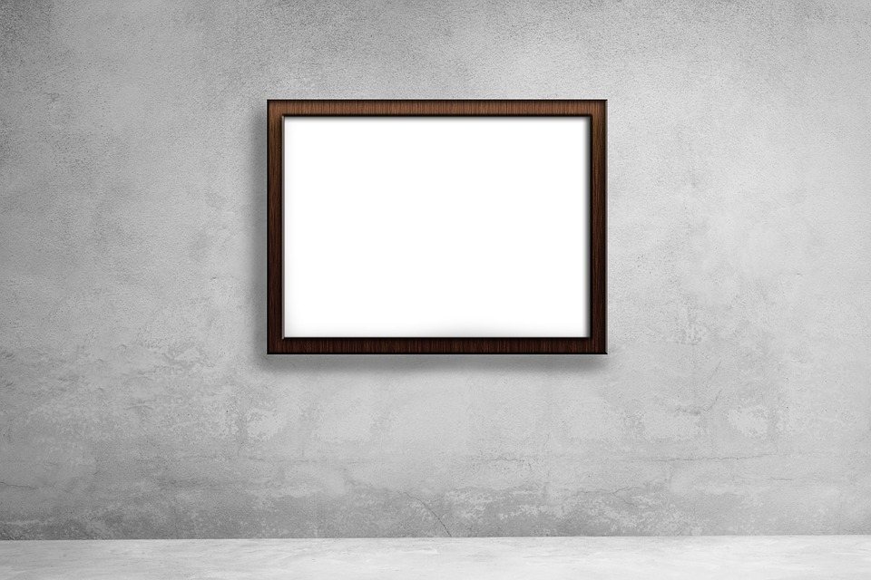 Mockup, Poster Mockup, Empty Frame, Picture Frame