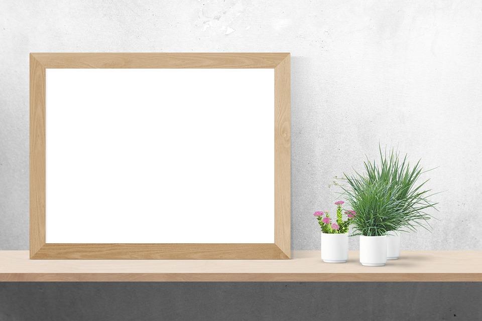free photo mockup poster wall mock interior frame template max pixel