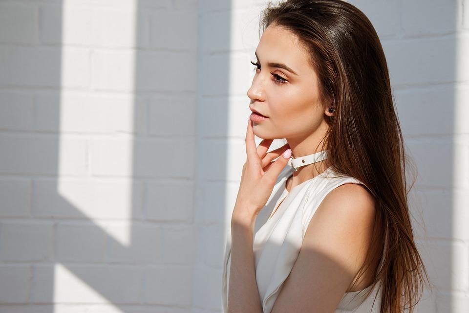 Girl, Brunette, Model, Makeup, Portrait, Beauty, Woman