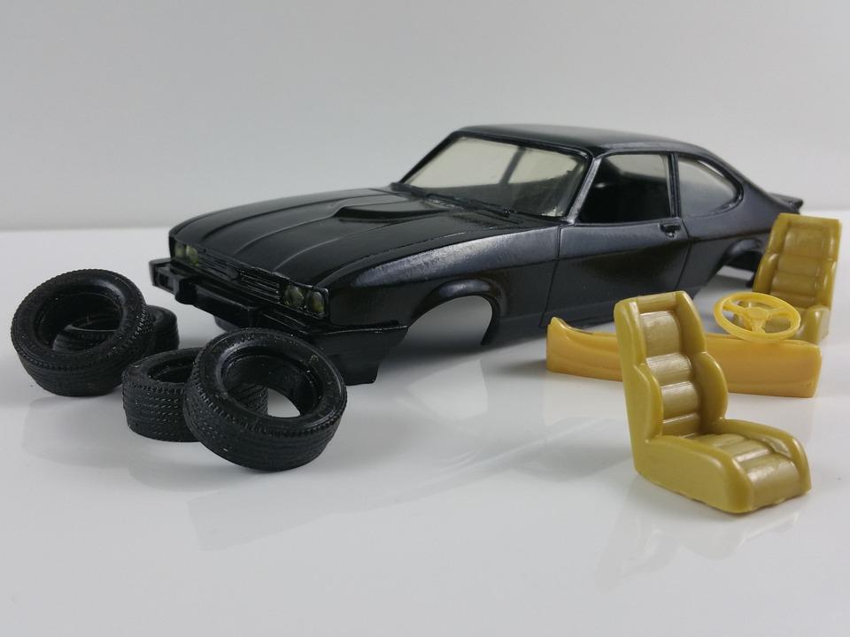 Capri, Model Kit, Model Car