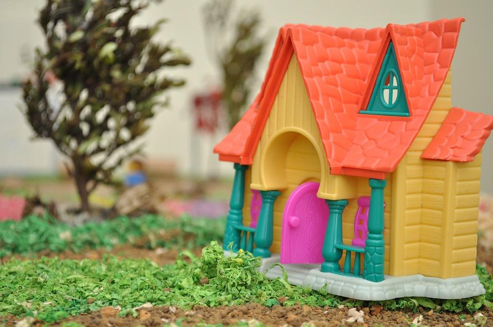 House, Model, Toy, Casita, Miniature, Scale, Art