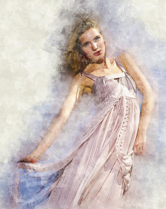Fashion, Model, Young, Woman, Portrait, People, Female