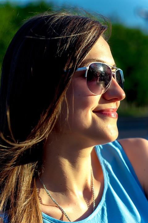 Smile, Girl, Photo, Smiles, Model, Sun