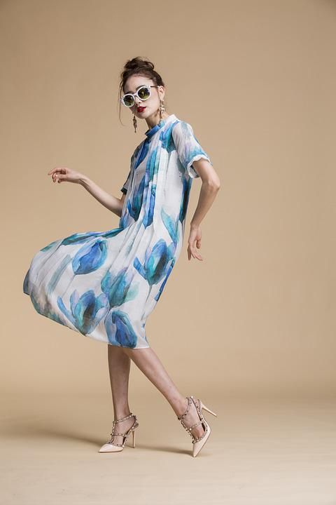 Woman, Model, Dress, Elegant, Female, Fashion