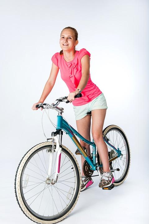 Girl, Woman, Bike, Teen, Model, Young, Hair, Portrait