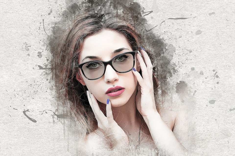 Woman, Girl, Female, Young, Beauty, Model, Glasses
