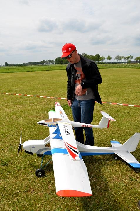 Modelflying, Nature, Hobby, Fly