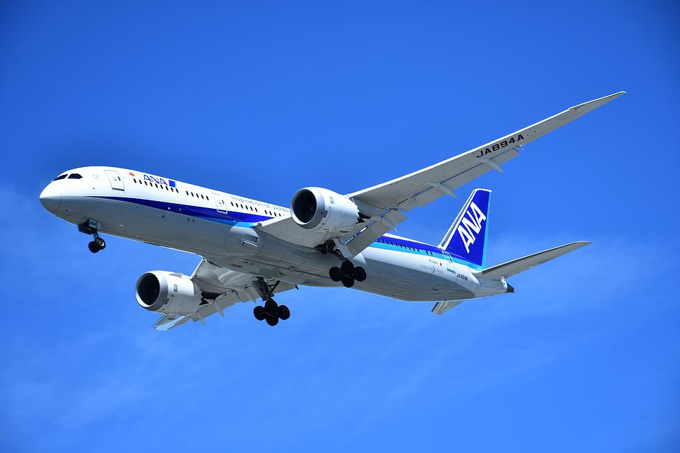 Passenger Airplane, Jet Plane, Modern Airplane