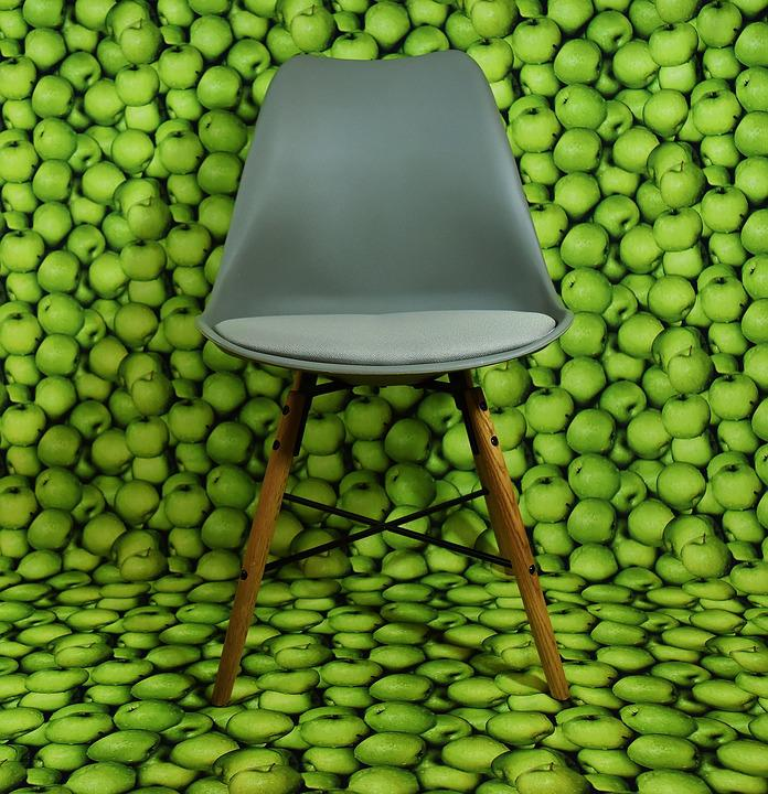 Free photo Modern Apple Green Chair Background Max Pixel