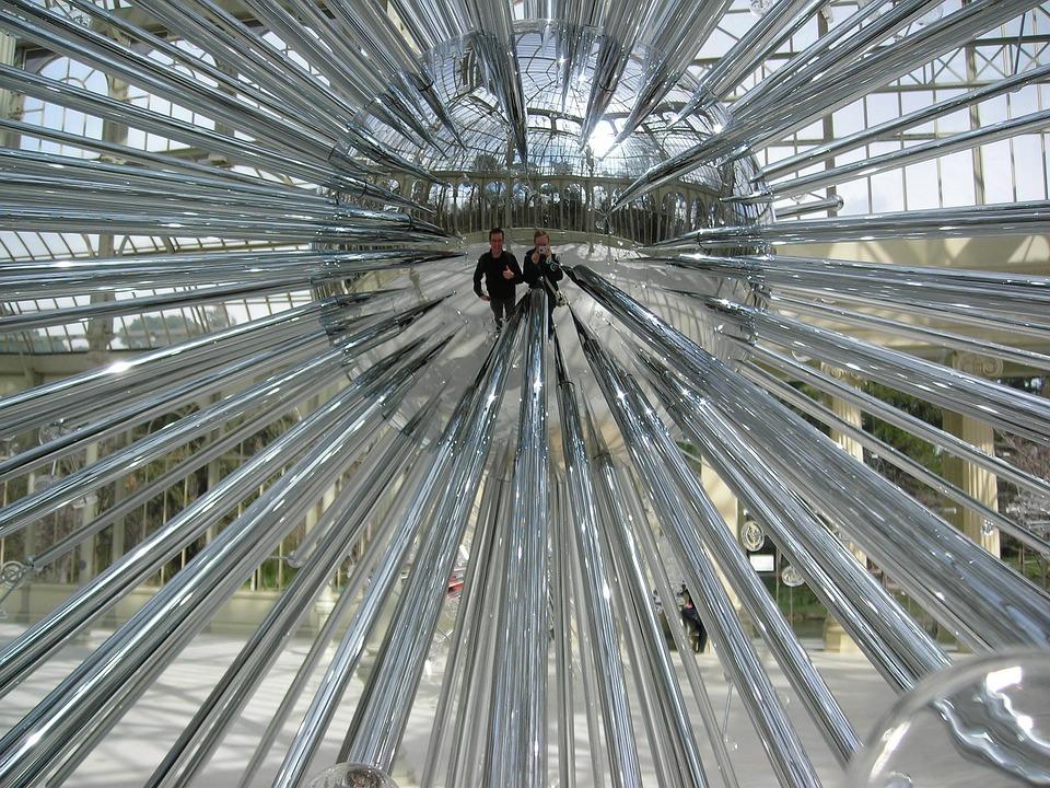 Reflection, Modern Art, Sphere, Modern, Design, Mirror