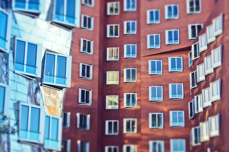 Architecture, Building, City, Window, Modern, Facade