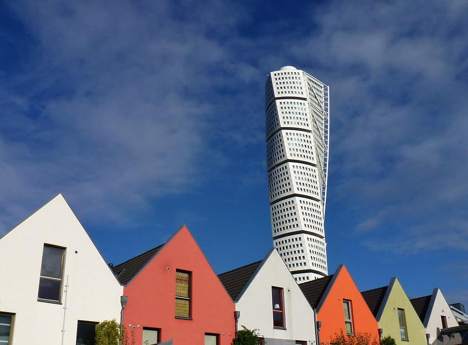 Architecture, Facade, Homes, Building, Modern, Tower