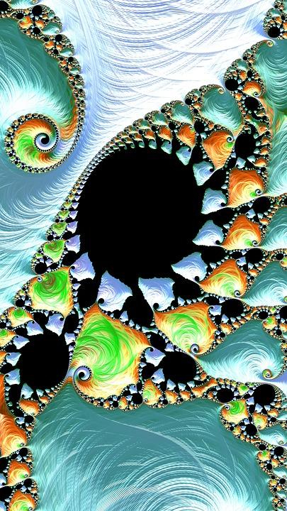 Fractal, Art, Design, Pattern, Modern, Artistic