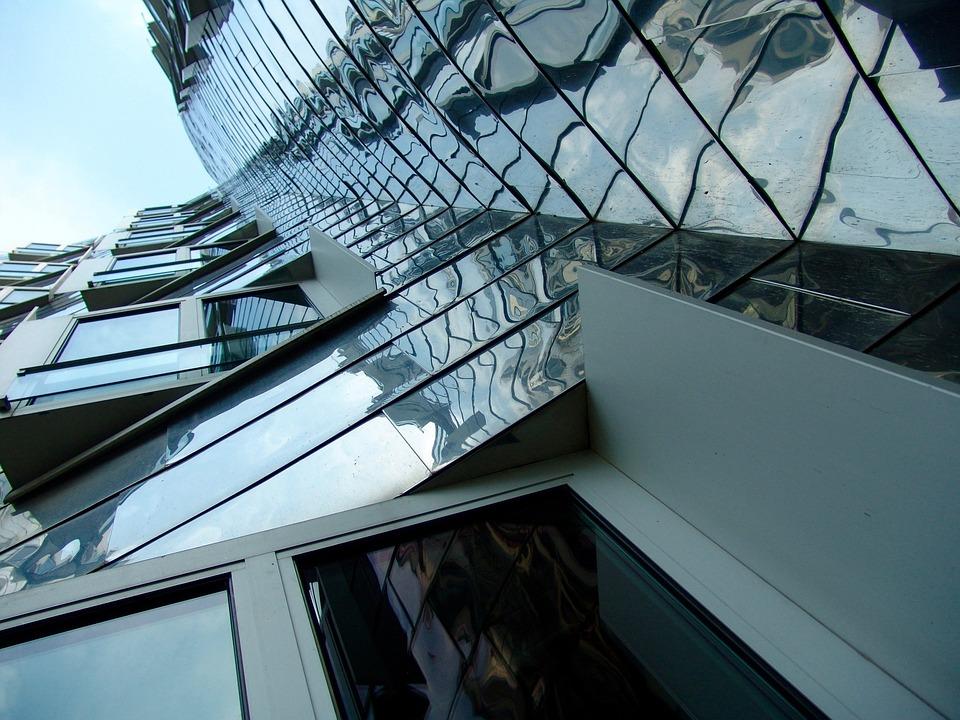 Modern, Architecture, Düsseldorf, Office Building
