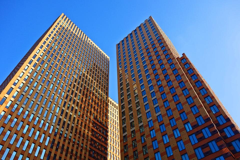 Building, High Rise, Skyscraper, Office, Modern