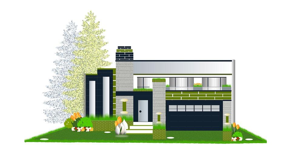 Modern Home, Architecture, Construction, Design