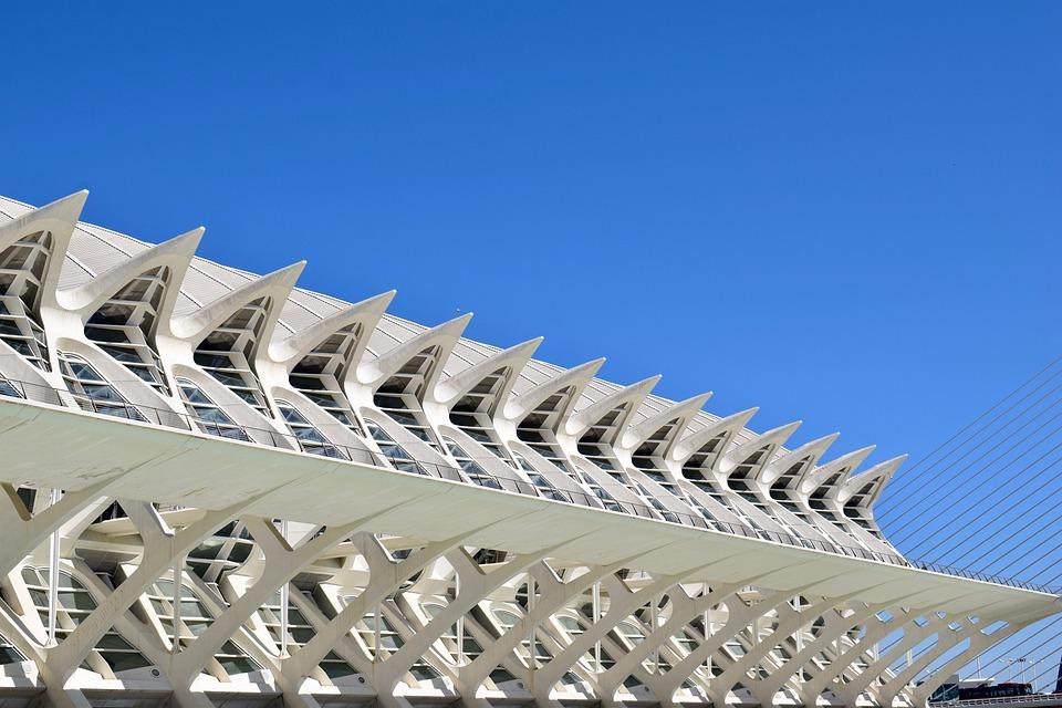 Modern, Museum, Valencia, Architecture
