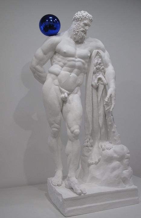 Museum, Art, Modern, Paris, Statue