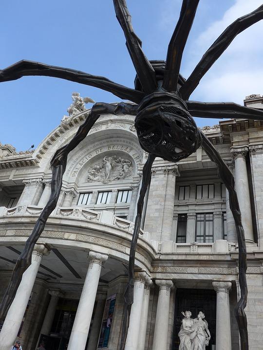 Art, Museum, Mexico City, Spider, Modern, Classic, Sky