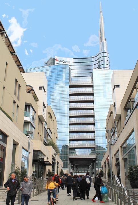 Skyscraper, Milan, Architecture, Building, Modern