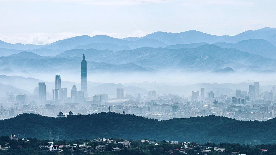 Taiwan, Taipei, Cityscape, Build, Asia, Outlook, Modern