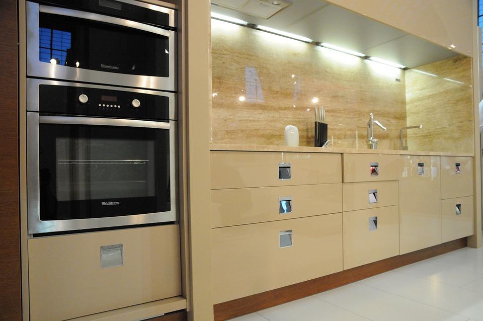 Kitchen, Modular, Modern