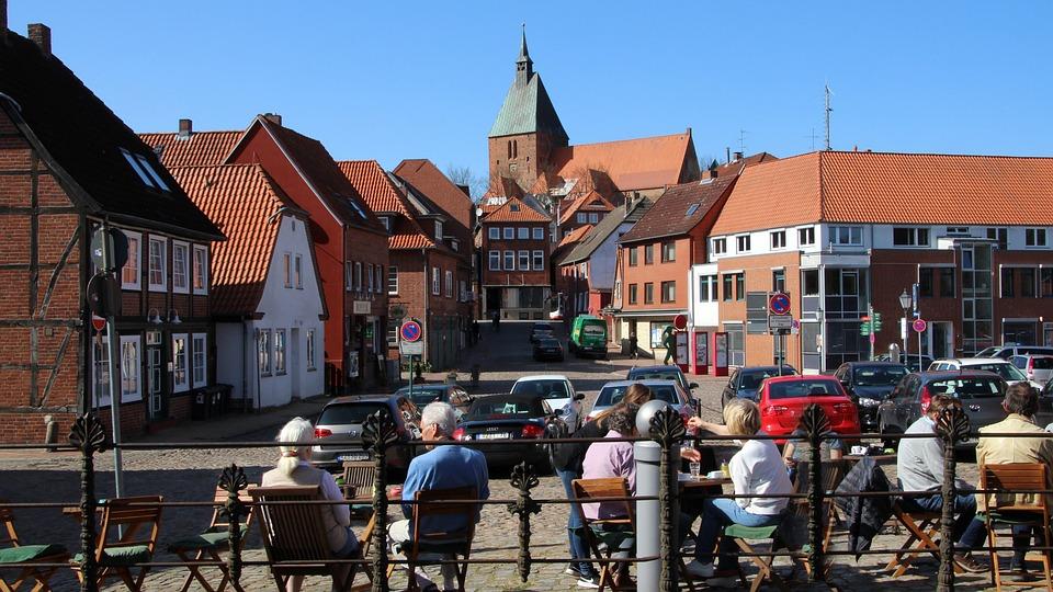 Möllen, Road, City, Tourism, Coffee, Personal