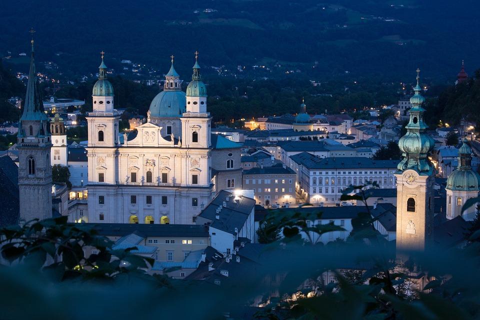 Salzburg, Austria, Mönchberg, Old Town