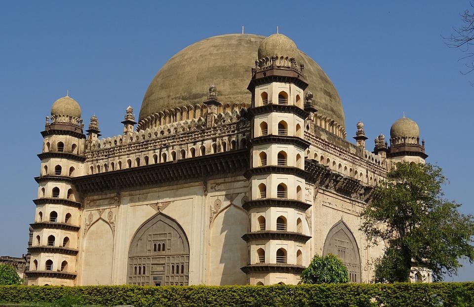Gol Gumbaz, Mausoleum, Monument, Mohammed Adil Shah