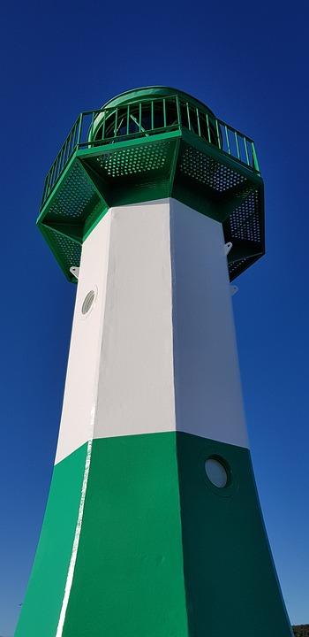 Mole, Sassnitz, Lighthouse
