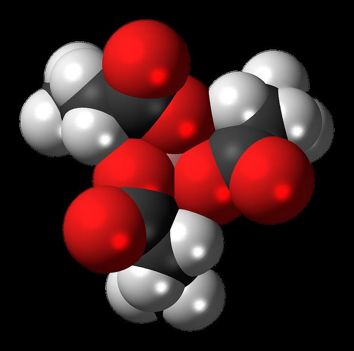 Aluminium Acetoacetate, Complex, Molecule, Model