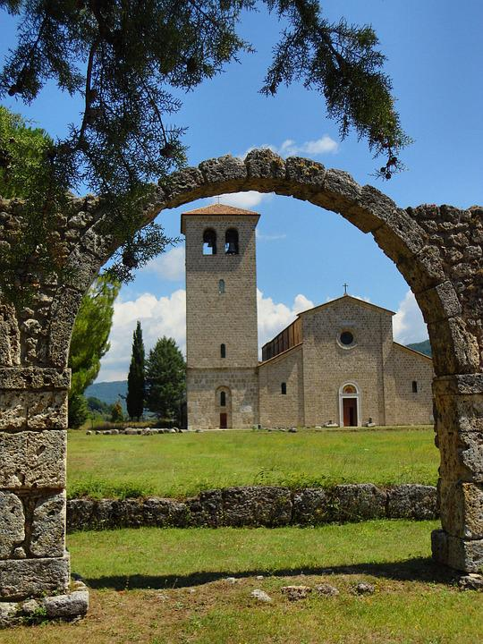 San Vincenzo Al Volturno, Church, Molise, Abbey