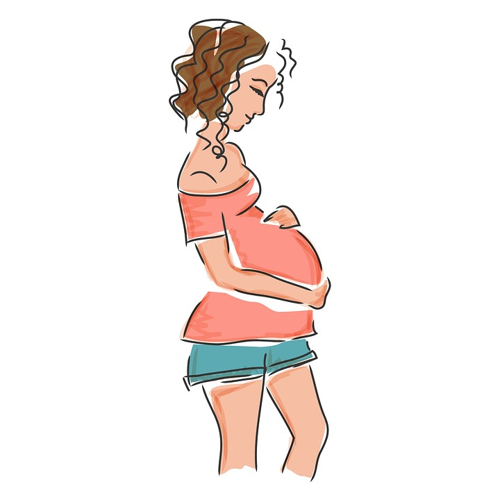Pregnancy, Mom, Expectant Mother, Pregnant, Femininity