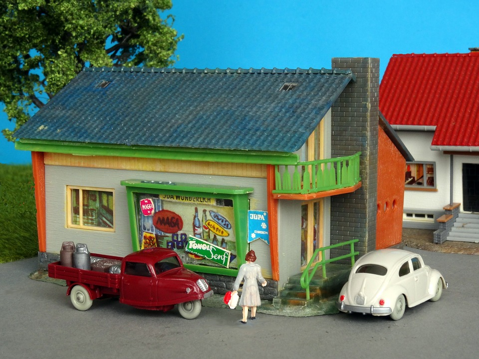 Mom-and-pop Store, Grocer, Retail Business, Kaufmann
