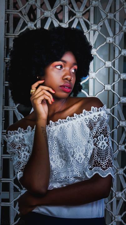 Kenya, Africa, Mombasa, Portrait, Beautiful, Model