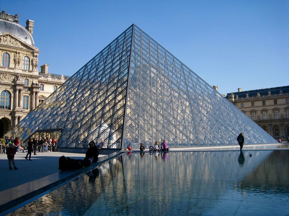 Paris, Louvre, Mona Lisa, Holiday, Summer