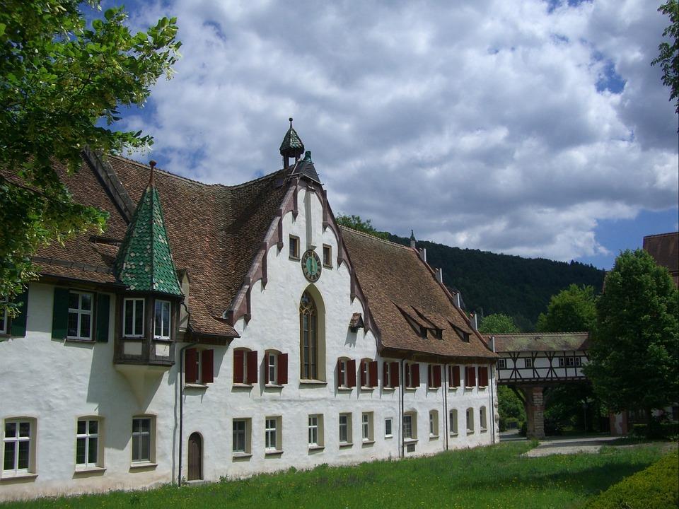 Truss, Monastery, Fachwerkhaus, Blaubeuren
