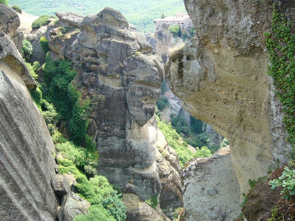 Greece, Kalambaka, Monastery