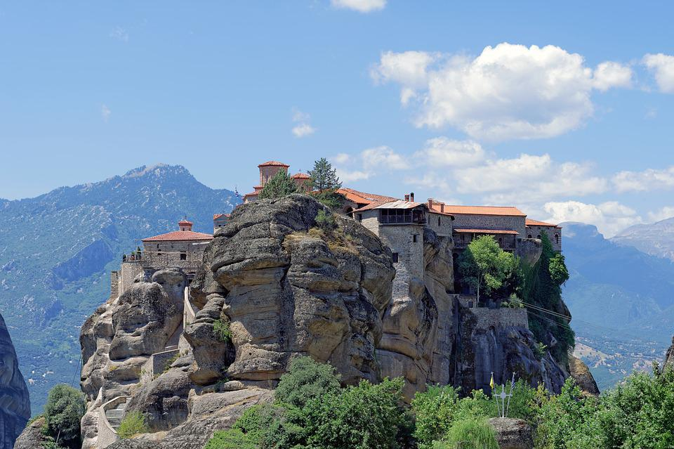 Many Monasteries, Varlaam Monastery, Monastery Greece