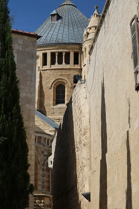 Dormition Abbey, Jerusalem, Monks, Monastery, Christian