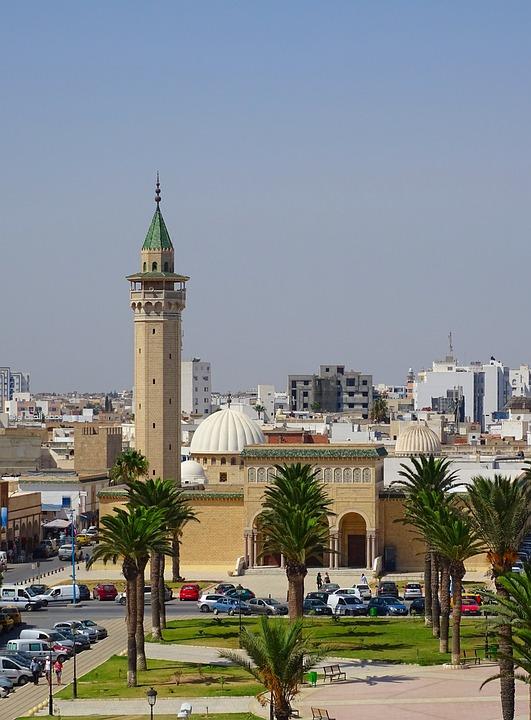 Great Mosque, Tunisia, Monastir, Mosque, Minaret
