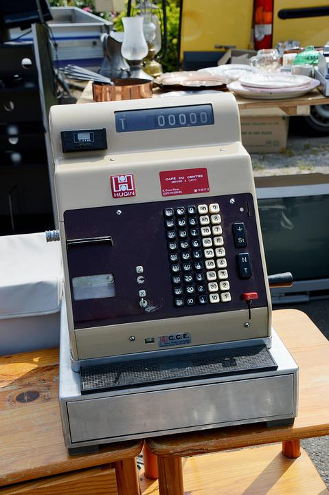 Cash Register, Accounting, Account, Store, Pos, Money