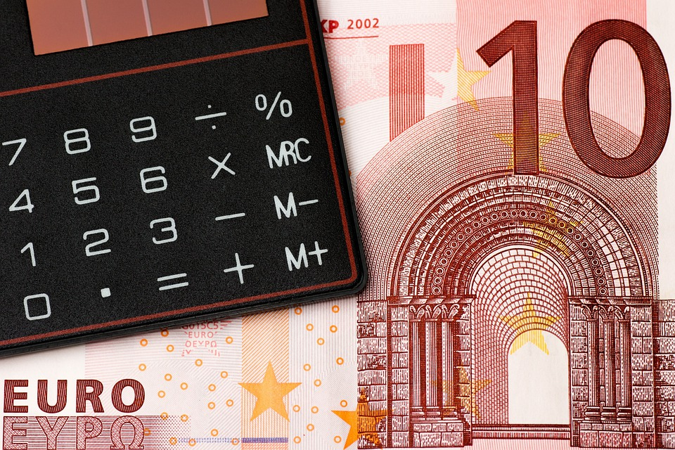 Money, Euro, Coin, Coins, Bank Note, Calculator, Budget