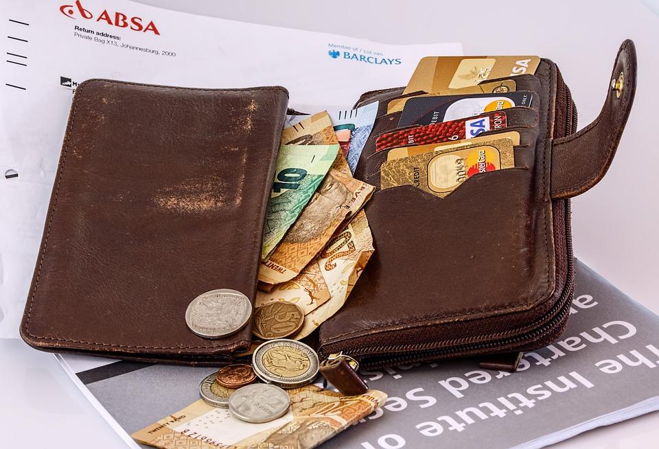 Credit Card, Cash, Money, Wallet, Card, Plastic