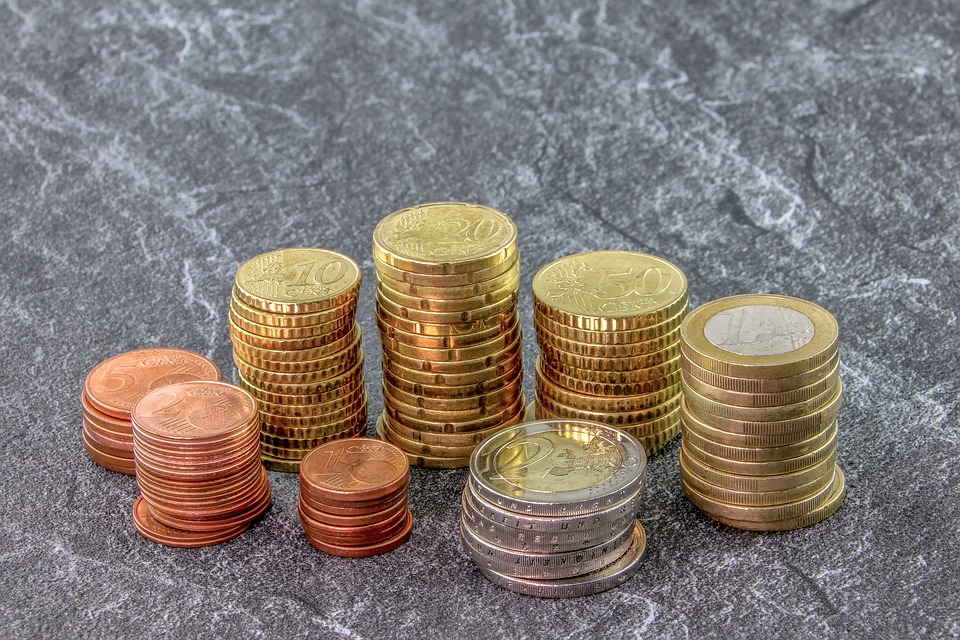 Money, Coins, Euro, Cent, Currency, Pay, Business, Cash