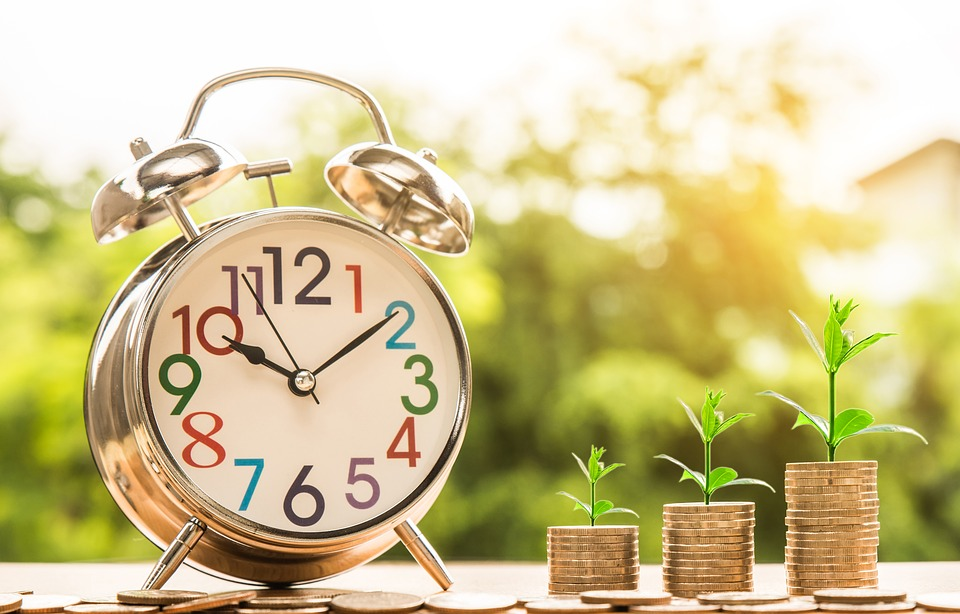 Clock, Money, Growth, Grow, Time, Time Management