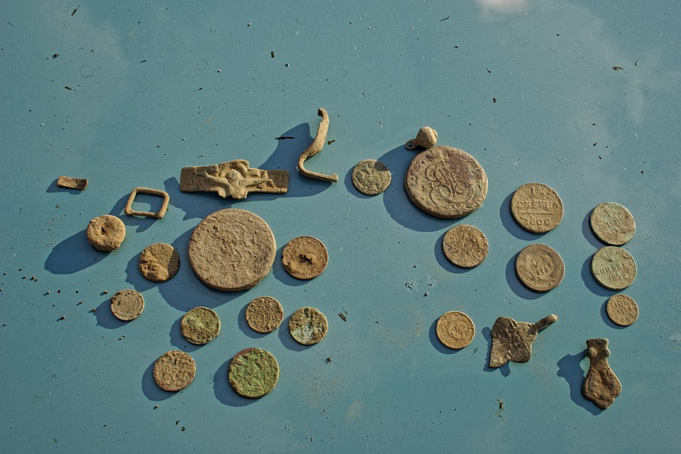 Coins, Antiquity, Old Coins, Retro, Money, Coin, Past