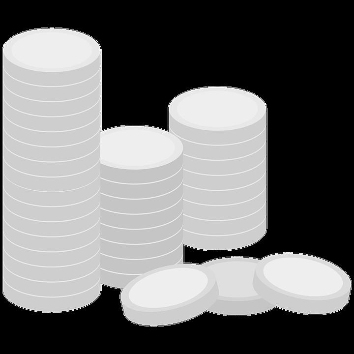 Coins, Coin, Silver Coin, Money, Finance, Business