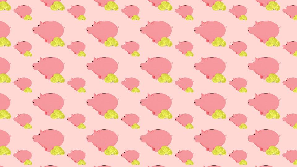Piggy Bank, Piggy, Money, Coins, Savings, Save, Bank